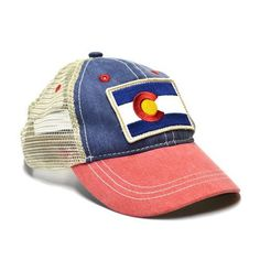 KID'S VINTAGE COLORADO FLAG TRUCKER HAT