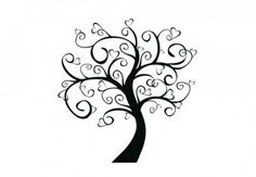 Wall decal - tree
