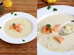 zupa cytrynowa z łososiem Hummus, Ethnic Recipes