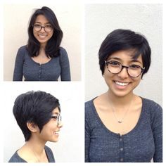 Pixie cut by Brittany