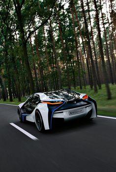 ♂ BMW concept car through woods Bugatti, Maserati, Ferrari, Porsche, Fancy Cars, Cool Cars, Bmw Concept Car, Cheap Used Cars, Futuristic Motorcycle