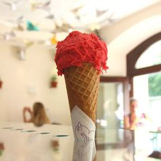 New post on blog finally! Read more about best ice cream in Prague. #icecream #prague #blog