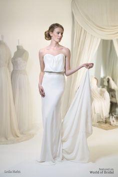 Leila Hafzi 2016 Wedding Dress