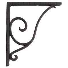 Signature Hardware Sprig Cast Iron Shelf Bracket #SignatureHardware