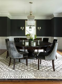 Transitional Dining Rooms We Love | The Well Appointed House Blog: Living the Well Appointed Life