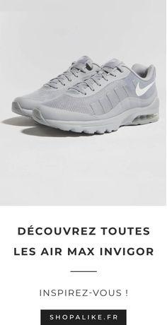 sports shoes 6c7ae ae811 Découvrez tous les modèles de Nike Air Max Invigor pour femme et pour homme  sur ShopAlike
