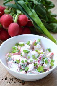 Sałatki na Sylwestra - przepisy - KulinarnePrzeboje.pl Family Meals, Family Recipes, Compost, Salad Recipes, Potato Salad, Side Dishes, Grilling, Lunch Box, Food And Drink