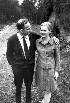 Ingmar Bergman & Liv Ullman