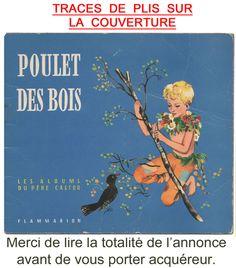 Album du Père Castor 1957: POULET des BOIS