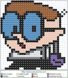 Dexter EN HAMA BEADS