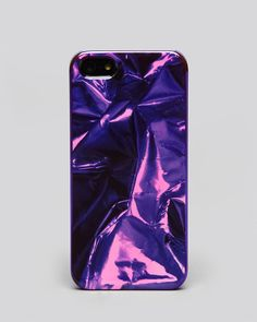 Marc by Marc Jacobs Metal Wrapper iPhone 5 Case Metal Iphone Case, Unique Iphone Cases, Iphone 5 Cases, 5s Cases, Iphone 5s, Cover Iphone, Diy Speakers, Tech Accessories, Marc Jacobs
