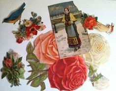 Vintage Victorian Antique Paper Ephemera by RedRavenCollectibles