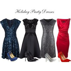 """Holiday Party Dresses"" by keri-cruz on Polyvore"