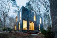 Photo 1 of 14 in Weather Steel Home By Merge Architects - Dwell