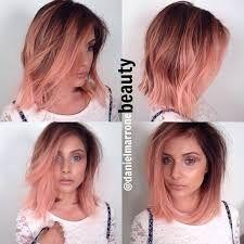 Resultado de imagen para ombre rosa cabello