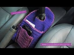 Crochet Car, Crochet Crafts, Yarn Crafts, Crochet Clothes, Crochet Projects, Easy Crochet Stitches, Crochet Rug Patterns, Car Accessories Diy, Crochet Accessories