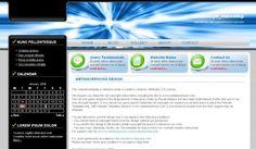 technology website templates free