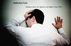 Relapse rates for opiates are higher than 90%.Thats encouraging but sometimes the truth hurts . I've stopped counting or I've lost track......