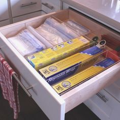 Kitchen - Design your own acrylic drawer organizers online at Organize My Drawer #kitchendesign #kitchendrawers