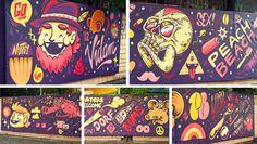 Attila Szamosi - Vidam | The Weird | PEACHBEACH | Illustration | Music | Berlin | Custom Art  CHECK OUT THE EXCLUSIVE INTERVIEW: http://www.skin-artists.com/exclusive-graffiti-interview-with-vidam.htm