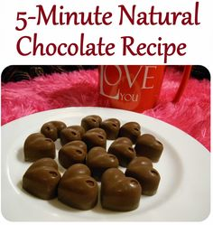 Five-minute Natural Chocolate Candies: Recipe