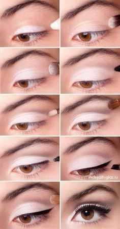 Perfection. Makes white eyeshadow look good