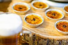 Gorgeous espresso creme brulees #wedding #food Espresso And Cream, Grooms Table, Food Gallery, Reception Food, Food Displays, Throw A Party, Creme Brulee, Wedding Desserts, Bon Appetit