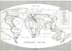 Ma+egy+nem+eléggé+széles+körben+ismert+hazánkfiáról+lesz+szó,+aki+egy+olyan+korszakban+(1958-1990+között)+utazta+be+(szó+szerint)az+egészvilágot,+amikor+ez+általában+hatóságilag+volt+akadályozva.+14+nagy+utazása+során+983.051+km-t+tett+meg,+ebből+22.549+km-t+gyalog(!),+507.781-et+busszal,+vonattal,+autóval,+359.160-at...