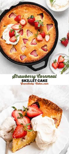 Strawberry Recipes, Fruit Recipes, Cupcake Recipes, Sweet Recipes, Cupcake Cakes, Dessert Recipes, Cupcakes, Best Icing Recipe, Cornmeal Cornbread