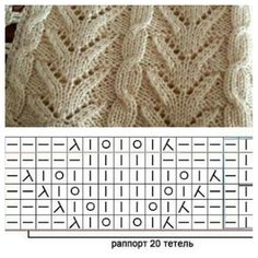 VK is the largest European social network with more than 100 million active users. Lace Knitting, Knitting Stitches, Knitting Patterns, New Crafts, Diy And Crafts, Knitted Afghans, Crochet Blankets, Stitch Patterns, Womens Fashion