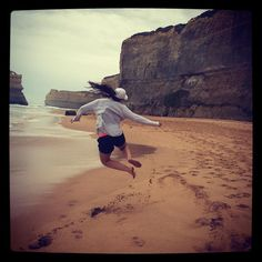 This girl should come with a warning - don't let her sit still in a car for two hours eating lollies. She goes bonkers when you eventually let her out  #bonkers #shouldcomewithawarninglabel #crazy #12apostles #dayout #explore #greatoceanroad #gor #victoria #australia #downunder by grundles88