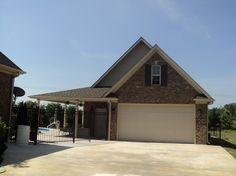 Garage Pool House Combos | 20\'x24\' Super Custom Full Brick Garage ...