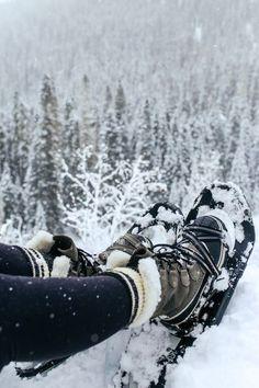 Snowshoeing in Sorel