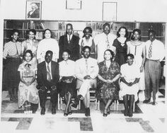 Teachers at Eureka High School including principal Mr. N. R. Burger seated in the center.