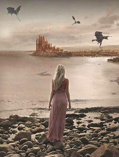 Daenerys Targaryen | The Great Khaleesi and her Dragons | Game of Thrones