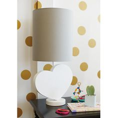 I Love Lamp - playful, yet refined look that fits with nearly  any decor. #summerinthecity #modernnursery