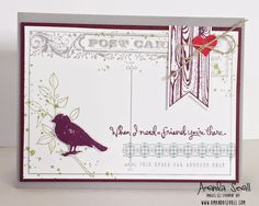 Amanda Sevall Designs: 365 Cards: When I Need A Friend, You're There. #WWYS6