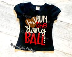 Toddler Football Shirt. Toddler Baseball T-Shirt. by MollieAndLola