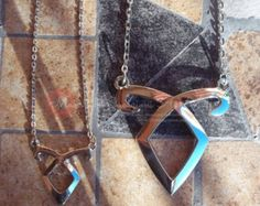 Angelic power necklaces, inspired by movie, two different sizes by moonlightcreazioni. Explore more products on http://moonlightcreazioni.etsy.com