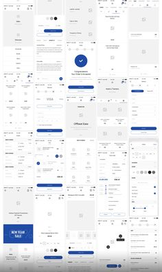 Big UI and Wireframe Kit for mobile projects. layouts in 8 categories helps speed up your UI/UX workflow. Each layouts are carefully crafted and based on modern design trends. Android App Design, Ios App Design, Android Ui, App Design Inspiration, Graphisches Design, Design Trends, Modern Design, Flat Design, Application Ui Design