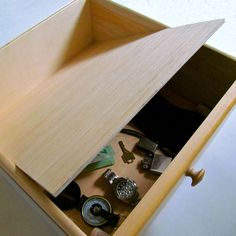 Picture of False Bottom Secret Compartment
