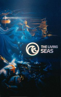 Cool vintage photos and info about The Living Seas at EPCOT Center. #WaltDisneyWorld