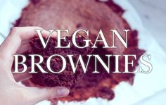 HCLF VEGAN BROWNIES - oil & gluten free simple recipe (without the oil &...