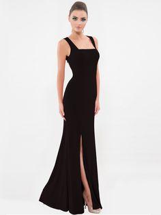 Black Vitorria Elain Gown from VITTORIA ROMANO Online Shopping For Women 0cd43fc12