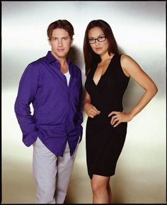 Christien Anholt and Tia Carrere - 'Relic Hunter'