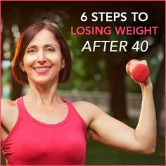 Think weight loss after 40 is impossible? Not at all! Use these 6 steps to burn more calories at rest and become the healthiest you've ever been!