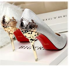 Women Pumps Red Bottom High Heels Suede Leather