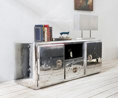 Tolle sideboard silber
