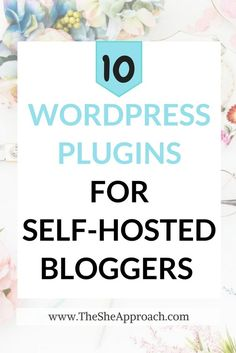 10 Must-Have WordPress Plugins For Bloggers Wordpress For Beginners, Blogging For Beginners, Tableau Software, Writing A Cover Letter, Wordpress Website Design, Online Blog, Wordpress Plugins, Wordpress Free, Hosting Company