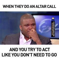 Altar calls